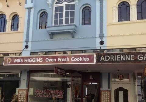New Regent Street Mrs Higgins Cookies
